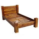 Łóżko DREWNIANE do WOŁKOWYJI