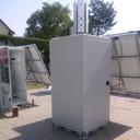 2 wieże do monitoringu 110x110x265cm