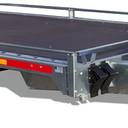 Transport przyczepy płaskiej CARPLATFORM 4021