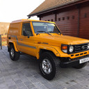 Transport Toyoty land Cruiser j70