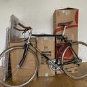 4 paczki i rower