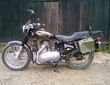 Motocykl + karton z częściami