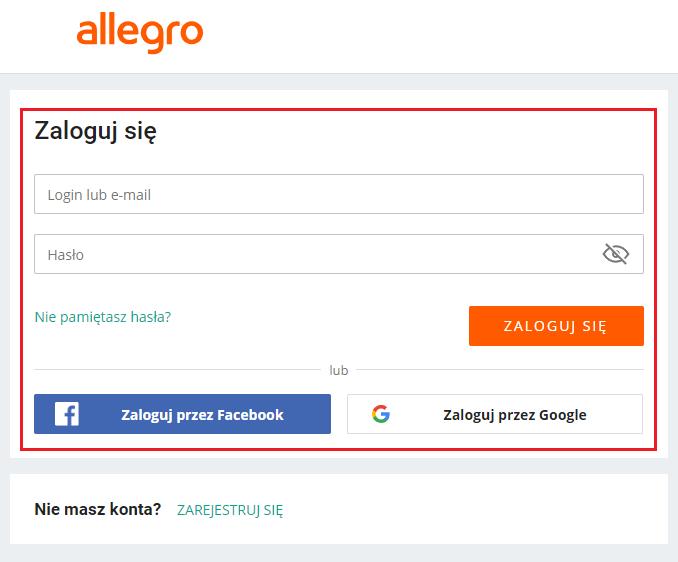 Integracja Allegro Pomoc